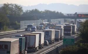 Guarda la versione ingrandita di Autostrada A4: incidente con feriti e traffico in tilt