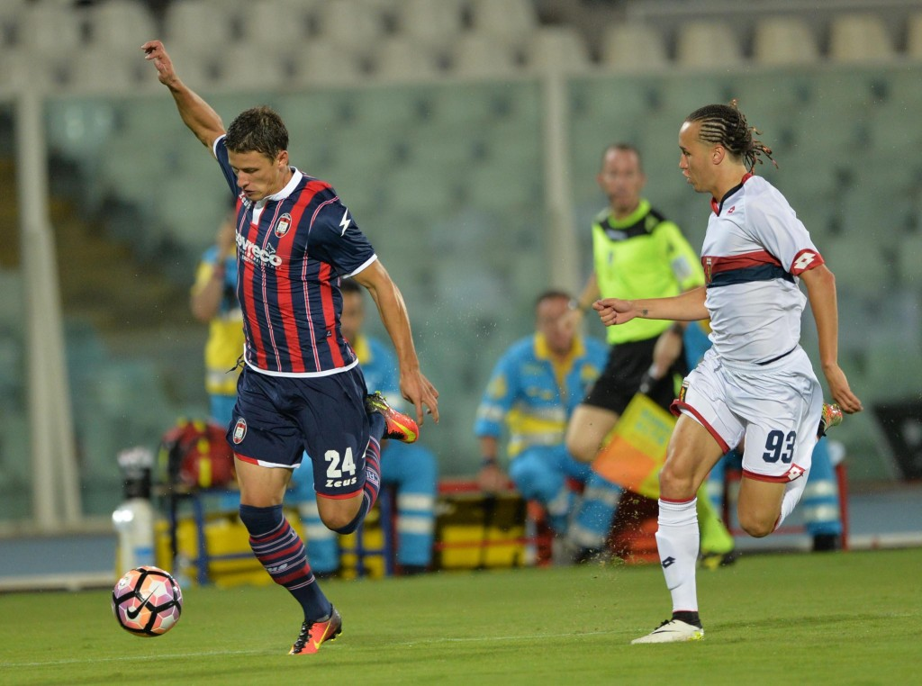 Soccer: Serie A; Crotone-Genoa