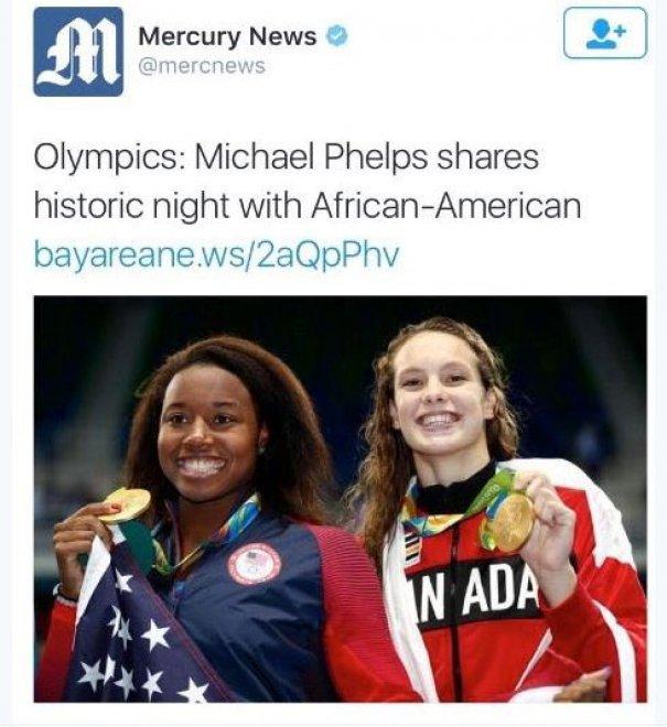 """giornale Usa omette nome e scrive: """"Afroamericana"""