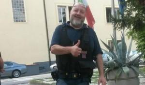 Genova, insulti su muro contro agente morto d'infarto a Ventimiglia