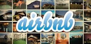 Un logo di Airbnb