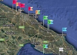 Guarda la versione ingrandita di Allarme alga tossica in Puglia: da Bari arriva fino al Salento