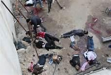 Guarda la versione ingrandita di Vittime bombardamenti in Aleppo