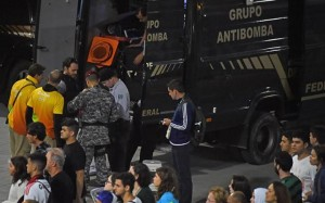 Guarda la versione ingrandita di Rio 2016, allarme bomba per zainetto prima di Spagna-Nigeria