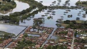 L' alluvione in Louisiana