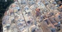 Amatrice prima  e dopo il sisma  Centro paese non esiste più
