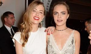 Guarda la versione ingrandita di Cara Delevingne e Amber Heard cercano di entrare senza pagare ma... (foto d'archivio)