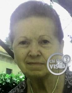 Antonietta Turri esce per andare dal parrucchiere ma scompare