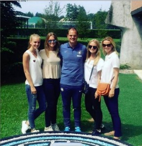Frank de Boer, FOTO bellissime figlie neo allenatore Inter111