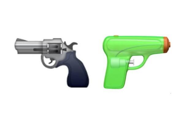 Apple, nuove emoji: pistola ad acqua al posto del revolver e...04