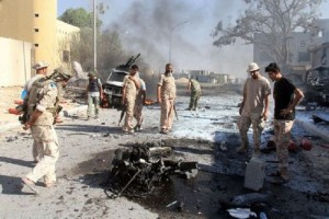 Guarda la versione ingrandita di Sirte, autobomba vicino soldati: 8 morti