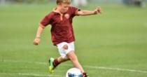 Cristian Totti capocannoniere vince torneo con baby Roma