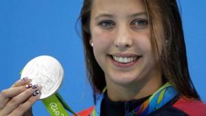 Rio 2016, Kathleen Baker, medaglia d'argento con il morbo di Crohn
