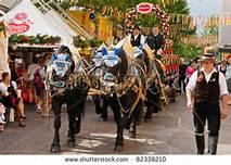 Un carro tradizionale della Festa