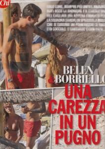 Guarda la versione ingrandita di Marco Borriello e Belen Rodriguez, Chi: