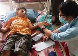 Un bambino malato