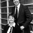 Tony Blair e Cherie Blair nel 1983