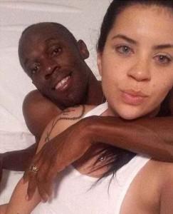 Usain Bolt a letto con una ragazza...e non è la fidanzata FOTO
