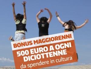Guarda la versione ingrandita di Bonus 18enni cultura: 500 euro dal 15/9. Scarica 18app