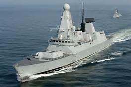 Il cacciatorpediniere HMS Daring