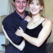 David e Samantha Cameron in una foto del 1995