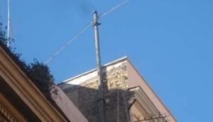 Roma, cavo lungo km sopra tetti del centro: era usato durante seconda guerra