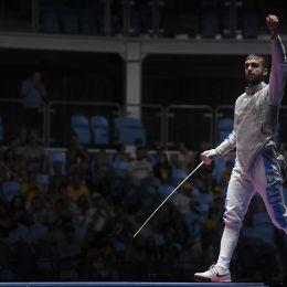 Rio 2016, il siciliano Daniele Garozzo: oro alla prima stoccata
