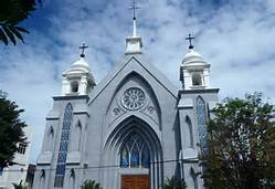 Una chiesa in Indonesia