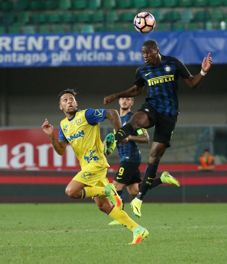 Soccer: Serie A; Chievo-Inter