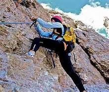 Uno scalatore