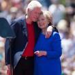 Hillary e Bill Clinton oggi
