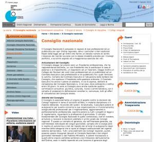 Consiglio Nazionale Ordine Giornalisti (Cnog): ridotti da 144 a 62 i componenti
