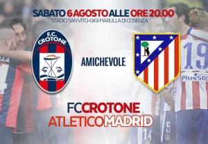 Guarda la versione ingrandita di Crotone-Atletico Madrid: orario, streaming, diretta Tv e biglietti