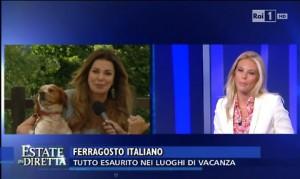 Eleonora Daniele-Alba Parietti: battibecco in diretta tv