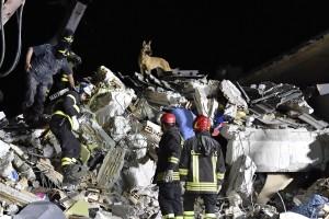 Guarda la versione ingrandita di Terremoto Centro Italia, sciacalli pronti a saccheggiare le case: il piano della Polizia (ansa)
