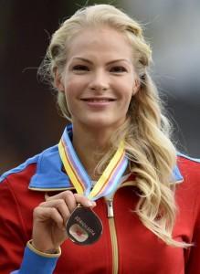 Guarda la versione ingrandita di Rio 2016, ciclone doping su Darya Klishina: Iaaf caccia ultima russa FOTO ANSA