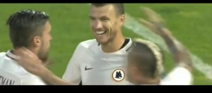 YOUTUBE Liverpool-Roma 1-2 Highligts. Dzeko-Salah gol