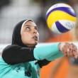 YOUTUBE Beach volley, Egitto-Germania: Doa El-ghobashy con hijab4