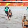 YOUTUBE Beach volley, Egitto-Germania: Doa El-ghobashy con hijab3