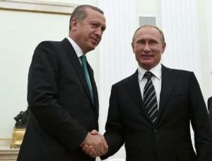 Guarda la versione ingrandita di Erdogan da Putin: asse Russia-Turchia? I possibili scenari (foto Ansa)