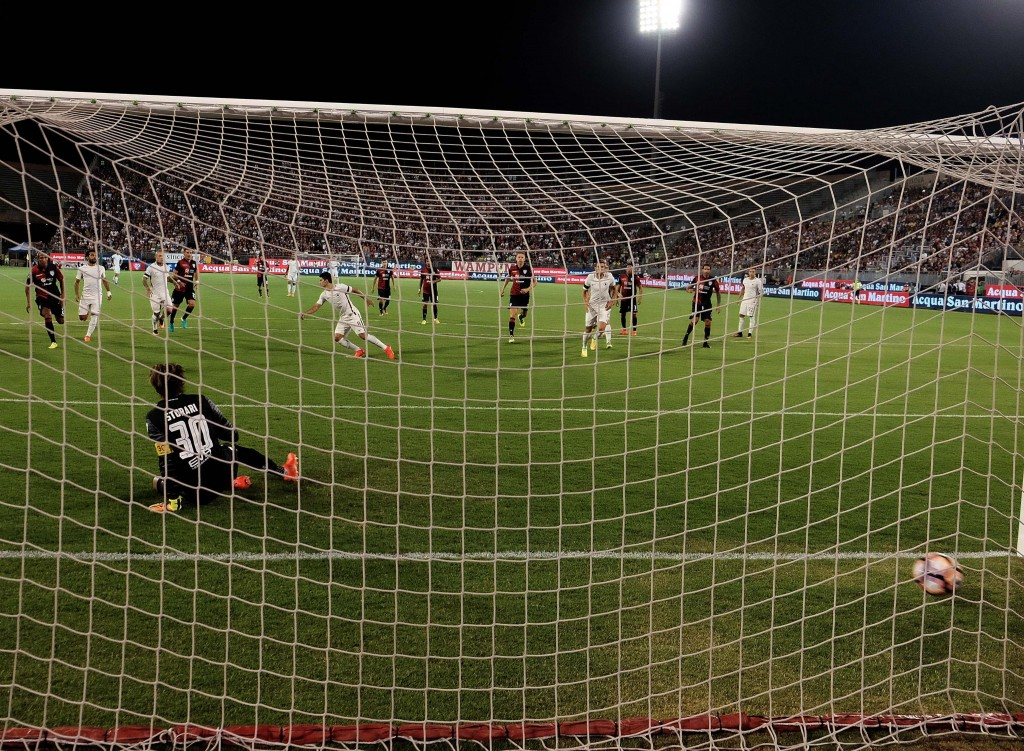 Soccer: Serie A; Cagliari-Roma