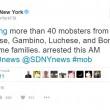 Mafia, a New York arrestati 40 affiliati a Cosa Nostra