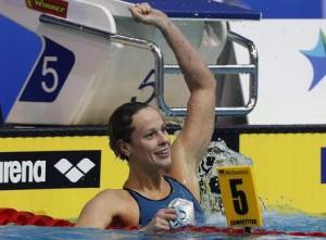 Guarda la versione ingrandita di Rio 2016, 4x100 stile libero (Federica Pellegrini): streaming-diretta tv, dove vedere foto Ansa