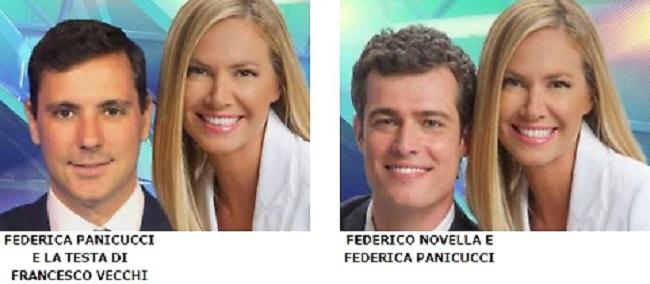 Federica Panicucci vittima ritocco fotografico di Mediaset