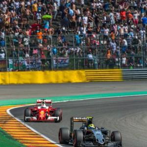 Guarda la versione ingrandita di F1, Gp Belgio: pole a Rosberg, Ferrari in seconda fila con Raikkonen e Vettel