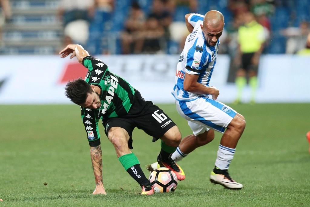 Soccer US Sassuolo vs Pescara Calcio Italian Serie A