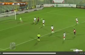 Foggia-Andria 2-1: highlights Sportube su Blitz