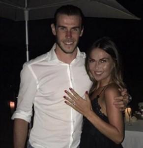 Gareth Bale affitta un'isola per chiedere alla compagna di sposarlo