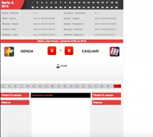 Genoa-Cagliari diretta live. Formazioni ufficiali-video gol highlights
