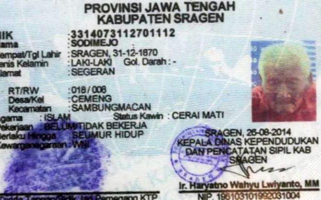 Uomo più vecchio al mondo? L'indonesiano Mbah Gotho, 145 anni FOTO 3